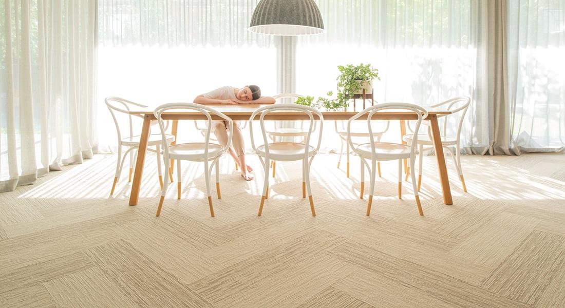 Malmo Dana 900, Norse Rae 900 - Oslo Planks Industrial Carpet Tiles by Signature Floors