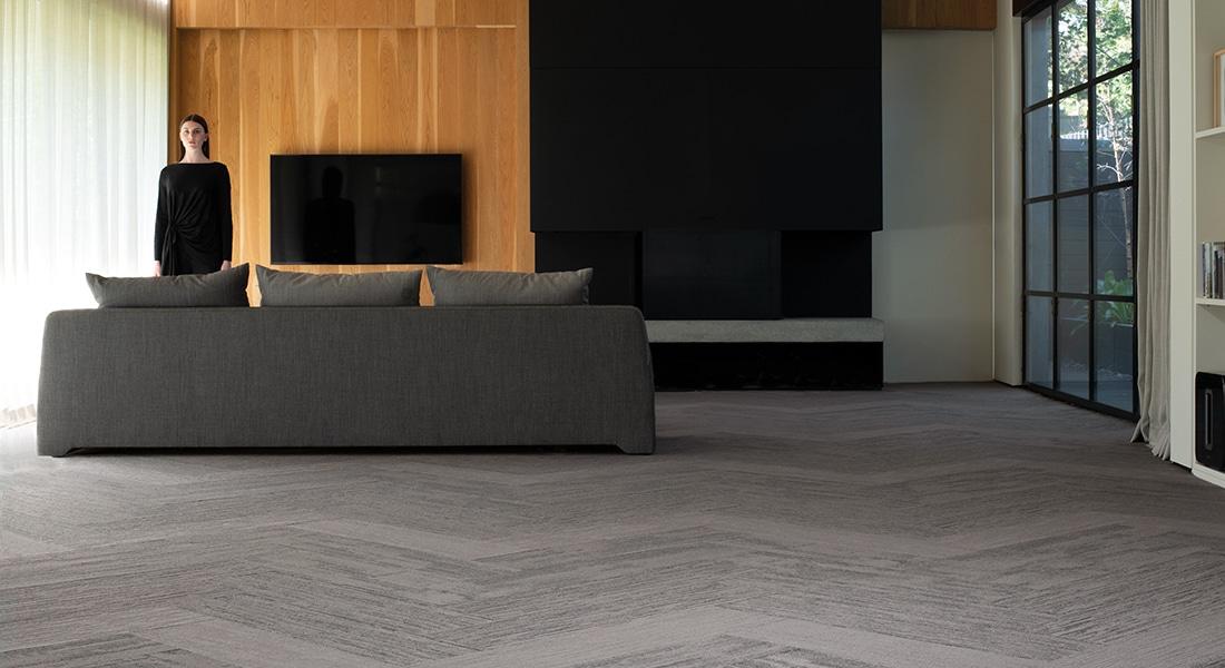 Skandi Odense 400, Malmo Maja 400, Norse Eskel 400 Oslo Planks Industrial Carpet Tiles by Signature Floors