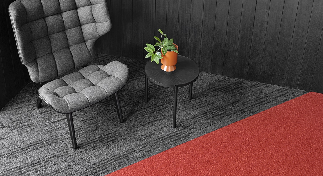 Norse 12 Oslo Planks Industrial Carpet Tiles by Signature Floors