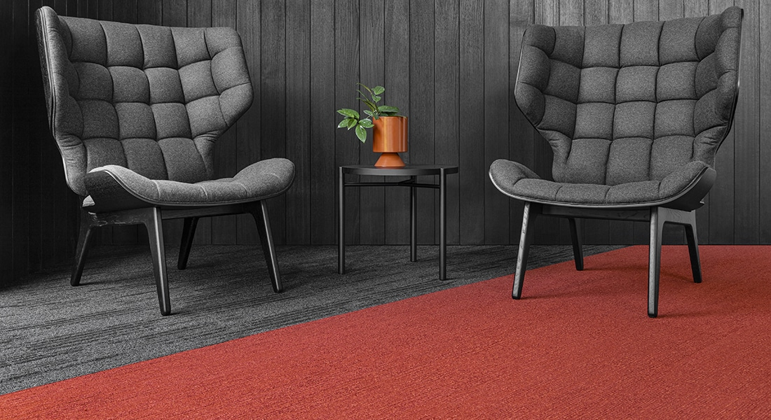 Norse 2 Oslo Planks Industrial Carpet Tiles by Signature Floors