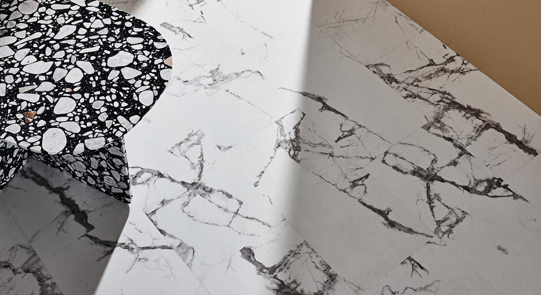88Planks_Room16 - Granite finish Stone-look Vinyl Planks - 88 Planks - Vinyl Planks & Tiles by Signature Flooring | Vinyl Plank Flooring | wood planks or stone tiles in form of vinyl tiles, planks or vinyl sheet | Buy Signature vinyl floorboards to design unique commercial vinyl flooring