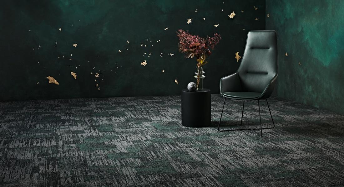 Carpet Tile Collection Raw Elements Gemstone_Basalt_Aventurine_2-122-123CB