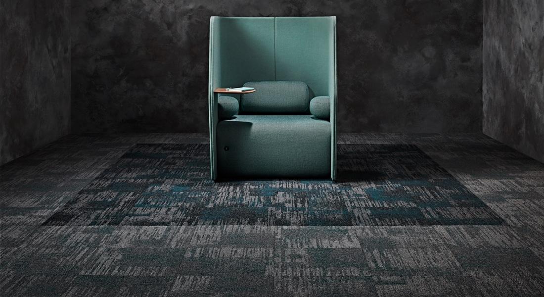 Carpet Tile Collection Raw Elements Gemstone_Basalt_Doptase_2-120-121CB_Gemstone_Shale_Malachite_3-071-102CB