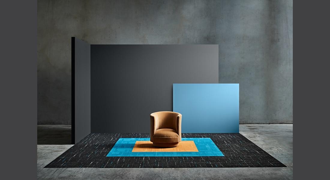 VIVID202 Carpet Tiles Strike 478, VIVID073-D46 Terra Nova, VIVID176-E44 Tuscan Sun