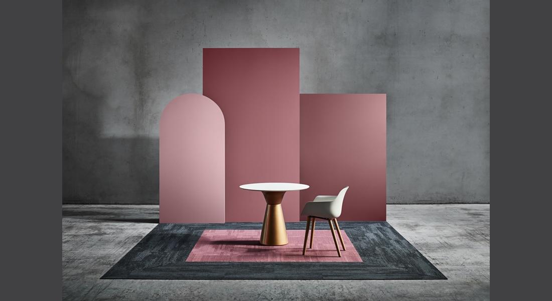 VIVID202 Carpet Tiles VIVID155-D35 Mauve It, Core Carbon 1-000-000