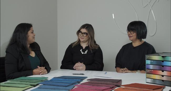 meet the designers behind Vivid 202 colour carpet tiles