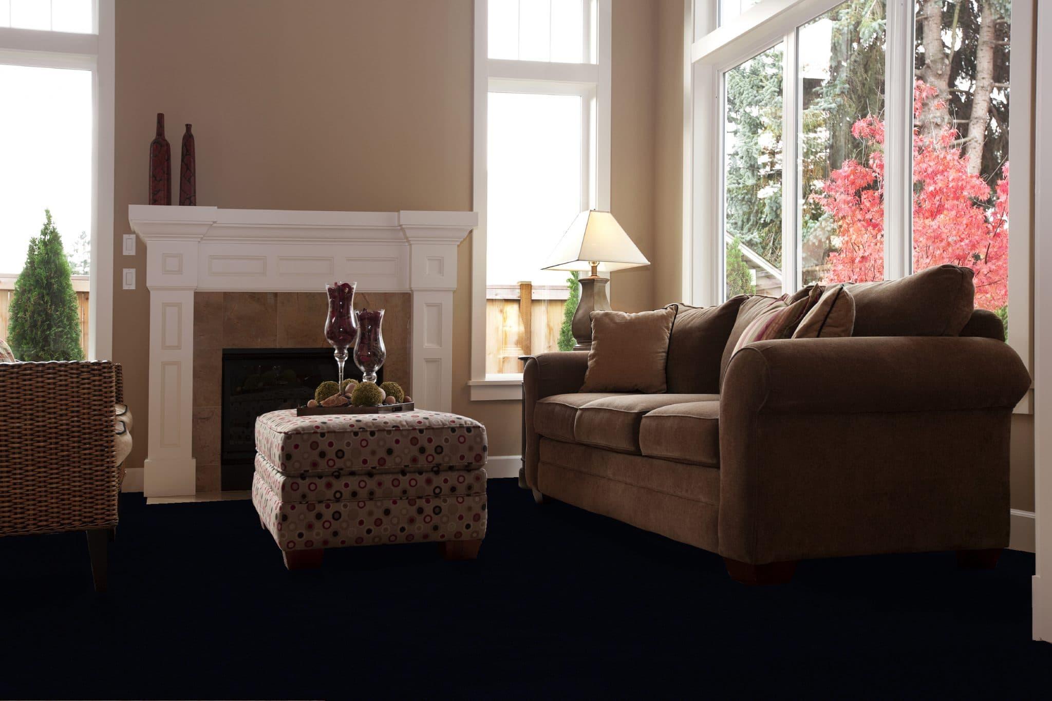 Chteau Edinburgh Classic Minster Installation Shot - Woven Axminster Carpet