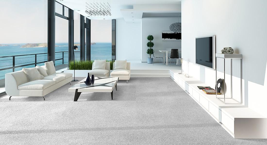 Residential Flooring - Carpet, LuxCloud, Arelia Lunar Breeze 90 Carpet