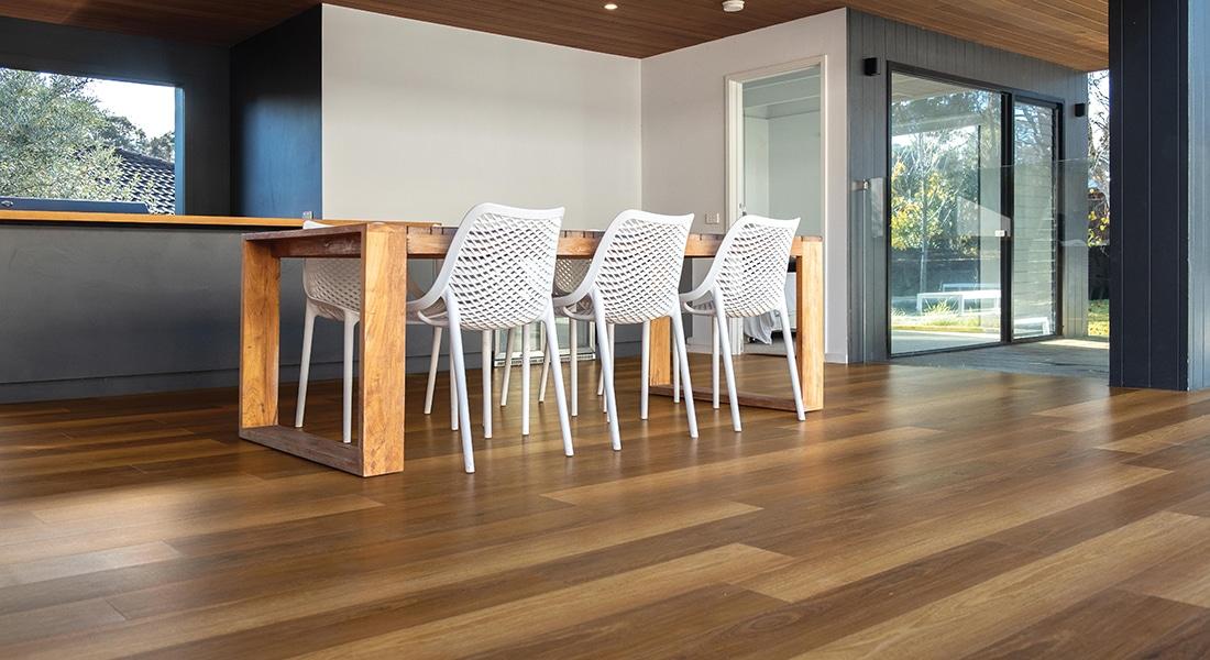 Residential Flooring - Hybrid Flooring, Sunplank, Retreat, Yengo Spotted Gum