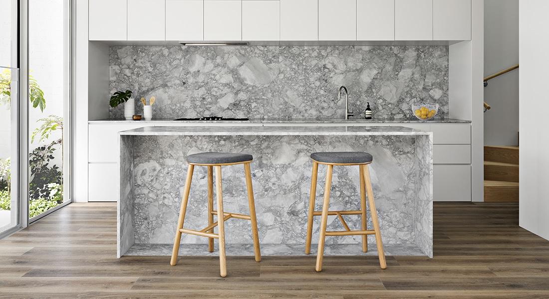 Residential Flooring - Hybrid Flooring, Quattro, Talla Oak | Quattro hybrid floors | flooring choices for allergy